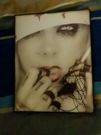 Signed In this moment Maria Brink 8x10