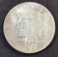 1922-P Silver Peace Dollar Redding, 96002