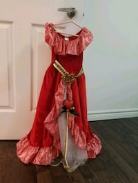 Princess Alayna Costume with wand Pickering, L1X 2V5