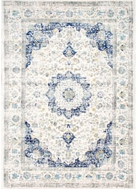 "Persian Verona distressed area rug 5' x 7' 5"" Philadelphia, 19128"