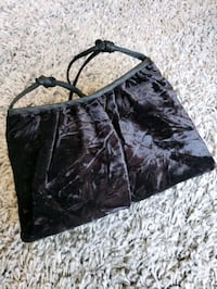 Vintage velvet evening bag black Vancouver, V6E 4R2