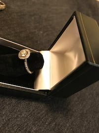 silver-colored ring with box Rockville, 20852