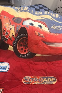 Lightening McQueen bed comforter Cambridge, N3H 4X4
