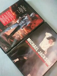 Michael Jackson dvds Baltimore