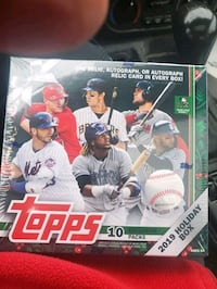 2019  TOPPS HOLIDAY BASEBALL CARDS COMPLETE SET  OF 200 Martinsburg, 25403