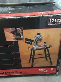Craftsman 10 in Compound Miter Saw with Stand McLean, 22102