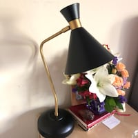 black and white table lamp Hayward, 94541