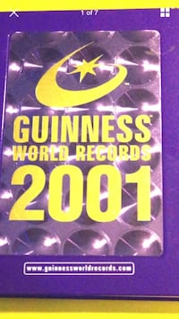 Guinness world records Book Martinsburg, 25403