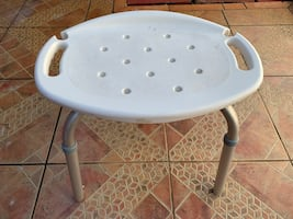 Small  shower bench