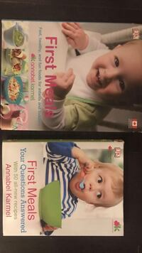 Baby books on great recipes.