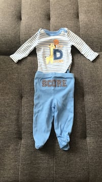 Baby boy onesie and pant set size 0-3 months Las Vegas, 89147