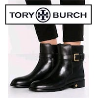 Tory Burch Black Leather Brooke Booties Toronto, M2N 5M9