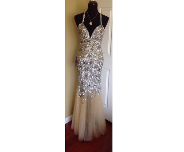 8662e6e7bd Used Couture luxury Jovani prom Dress for sale in New York - letgo