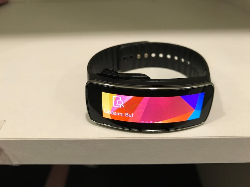 SAMSUNG GEAR FİT SM R350 0