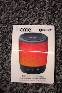 IHome bluetooth wireless speaker