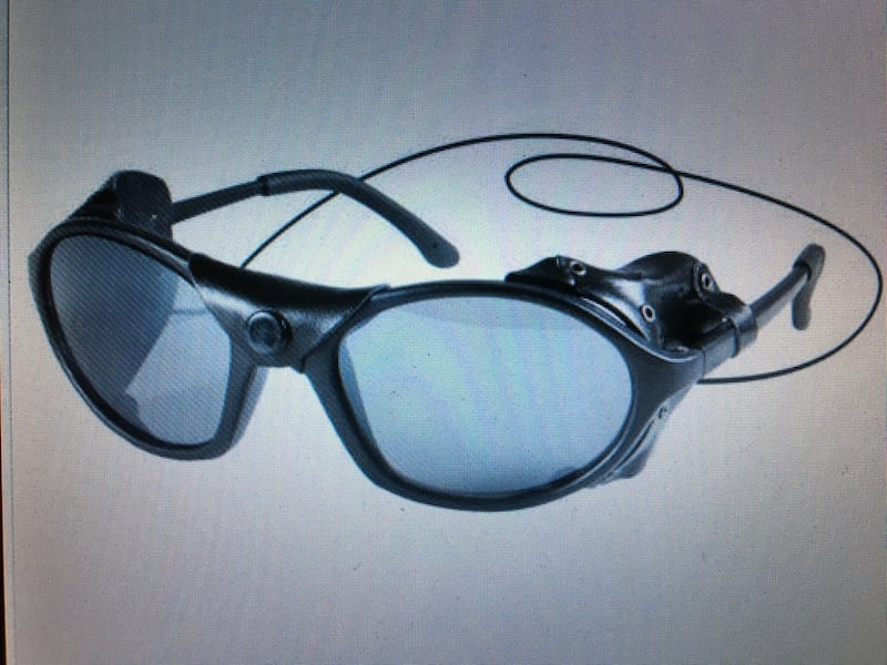 Reduced for a quick sale: Tactical style black sunglasses w/wind guard 118f36ab-a53e-4641-b5a1-56be6bc8a585