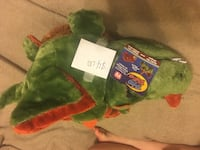 green and red animal plush toy Frederick, 21703