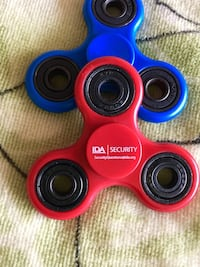 New Spinners each $10 / Institute of Defense  IDA * issues fun spinners Red or Blue Alexandria, 22311
