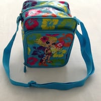 Beautiful lnch bag brand new length 20 cm x width 16 cm and the width from the sides 10 cm , (lisa frank lunch bag) Hamilton, L8V 4K6