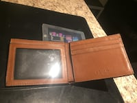 Brown Coach wallet Brampton, L6V 4R1