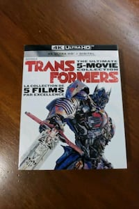 Transformers collection in 4k brand new