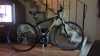 GT Transeo 3.0 Hybrid Bicycle and Cycleops Bike Trainer Anchorage, 00198
