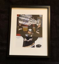 Scott Neidermayer signed and framed photo
