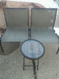 Patio chairs/Table