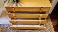 Maple Drawers and Bookshelf Mississauga