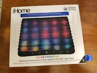 Brand new iHome colour changing Bluetooth speaker Victoria, V9A 6A6
