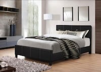 Brand new queen size platform bed frame with a mattress Silver Spring, 20902