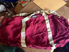 Very large red Eastpak duffle sack