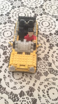Custom built authentic completely lego convertible car with lego figurine Barrie, L4N 0N6