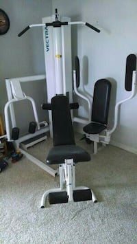 black and white vectra exercise equipment