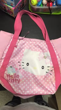pink and white Hello Kitty print bag New Canaan, 06840