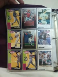 nine baseball player trading cards Midland, 79701