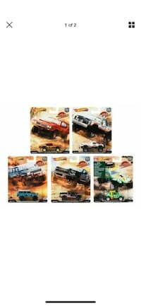 Hot wheels deseret rally complete set
