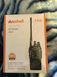 Two way radios and uhf transceiver