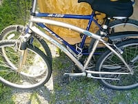 white and blue hardtail mountain bike Bunker Hill, 25413