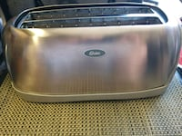 Oster 4 slice long slot bagel toaster like new San Jose, 95132