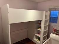 Bunk bed with desk and chair  Markham, L3T 3H6