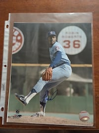 autographed baseball player trading card Chicago, 60611