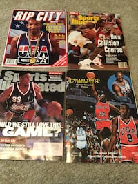 Vintage 90's basketball magazine gift set..must be picked up today before 5pm Vancouver, 98661
