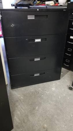 used black 5 drawer lateral file cabinet 24 for sale in mulberry rh tr letgo com