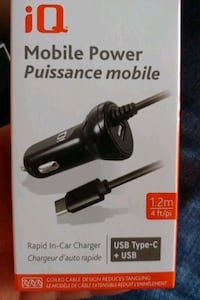 rapid in car charger with dual ports