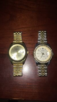 two round silver-colored analog watches Raleigh, 27606