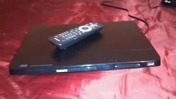 Philips blue ray player with remote