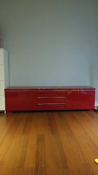 red wooden sideboard 552 km