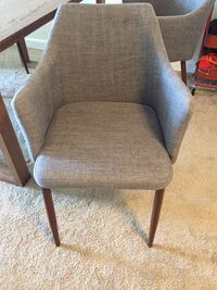 4 dining chairs retro vintage style  Silver Spring