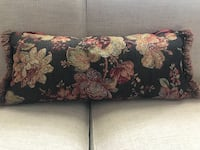 Accent Pillow: Red, gold, green and brown - $20   MINNEAPOLIS